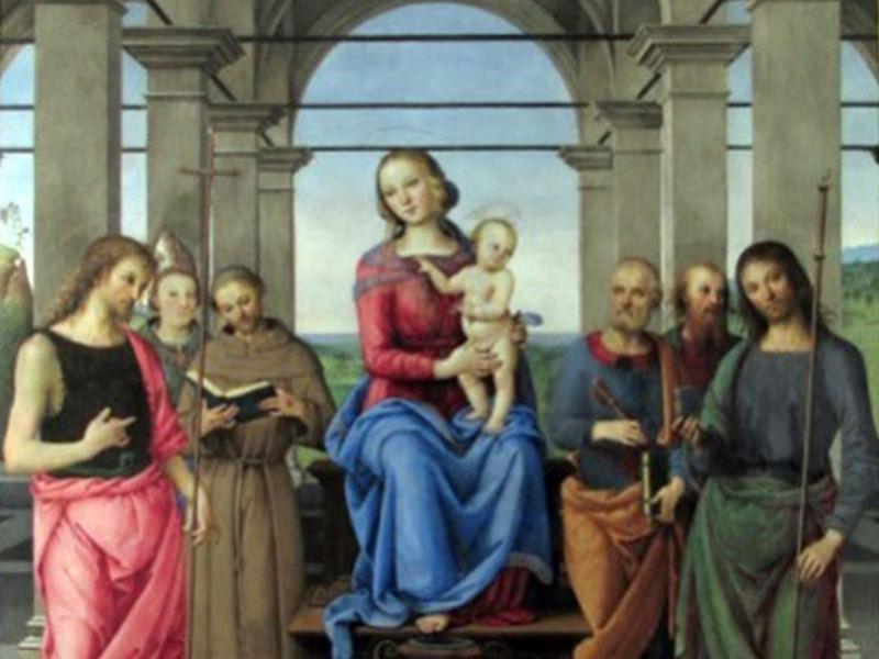 Pietro_Perugino_Madonna_e_Santi