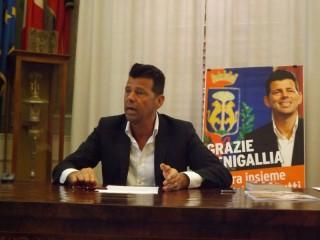 Maurizio Mangialardi dopo la riconferma a Sindaco di Senigallia