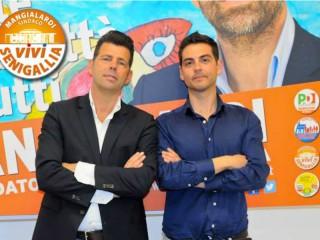 Maurizio Mangialardi e Stefano Canti