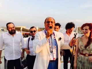Renzo Arbore, il CialtronTrio ed EvaPlume all'Expo di Milano