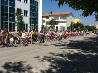 Giornata dedicata all'educazione stradale per la scuola primaria Cesanella di Senigallia