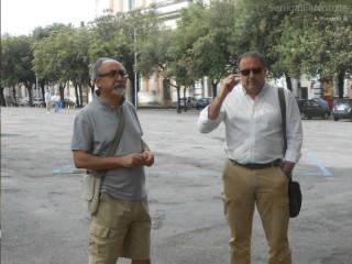 Rebecchini e Paradisi in Piazza Garibaldi