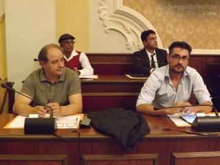 Le opposizioni (SBC e PIC) e i consiglieri stranieri aggiunti durante il primo consiglio comunale di Senigallia