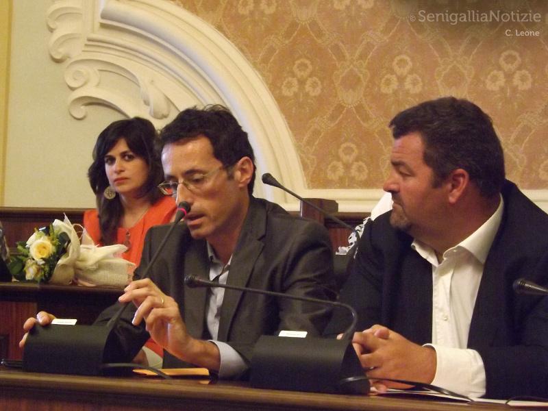 Da sx: Chantal Bomprezzi, Simeone Sardella ed Enzo Monachesi