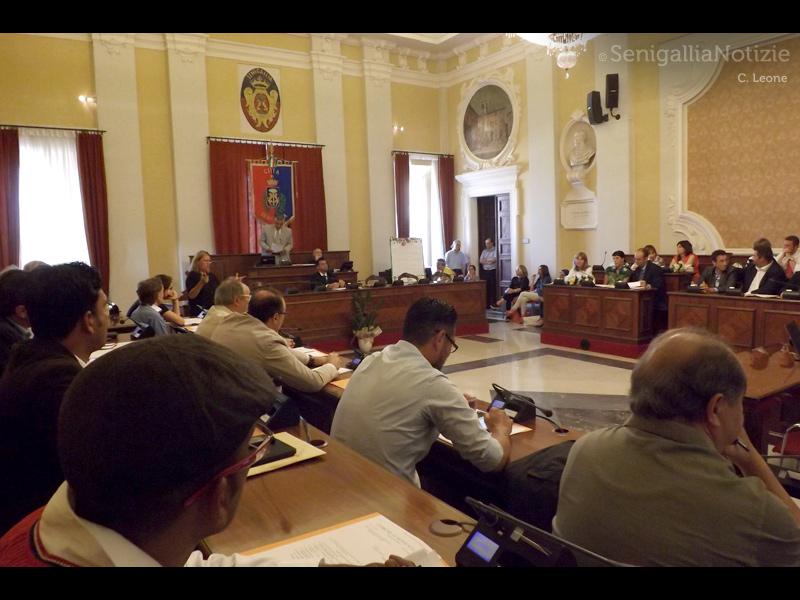 Il primo consiglio comunale di Senigallia