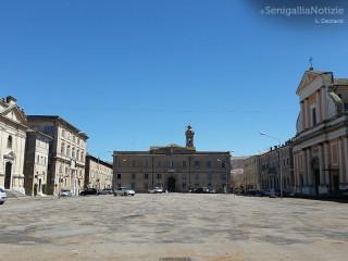Piazza Garibaldi a Senigallia