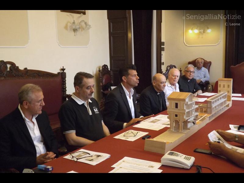 """Presentato il progetto di riqualificazione dell'isolato denominato """"Orti del Vescovo"""""""