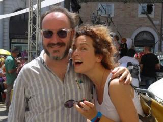 Marta Zoboli e Gianluca De Angelis
