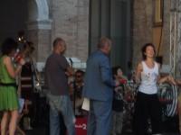 Sara Zoboli e Gianluca de Angelis sul palco