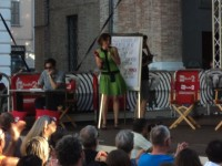 Greg e Sara Zambotti a Caterpillar del 1 luglio 2015