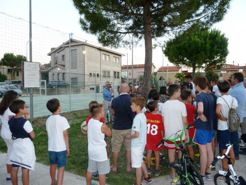 Borgo Molino, nuova area polivalente