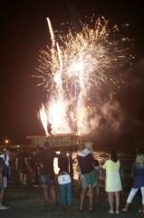 Fuochi d'artificio per la Notte della Rotonda 2015, a Senigallia