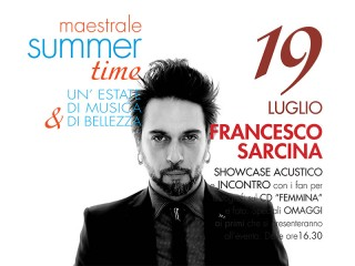 Francesco Sarcina al Centro Commerciale Il Maestrale di Senigallia