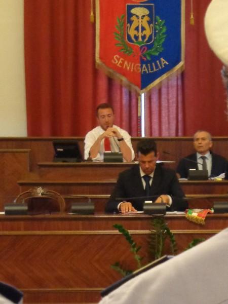 Il consiglio comunale di Senigallia di lunedì 13 luglio: Dario Romano, Maurizio Mangialardi e Stefano Morganti