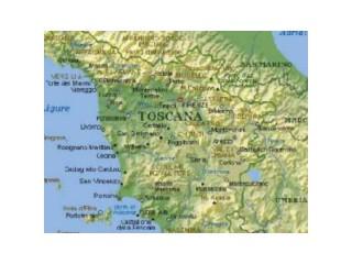 Mappa italia centrale