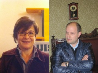 Nadia Rotatori e Simone Cecchettini