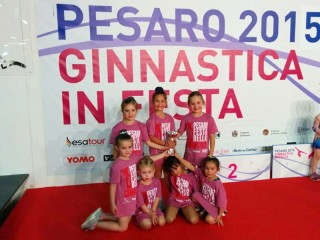 ginnastica ritmica: svolti i campionati italiani a Pesaro, dal 19 al 28 giugno 2015