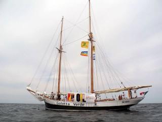 La Goletta Verde, la storica imbarcazione di Legambiente