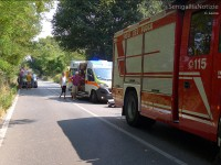 Le foto dal luogo dell'incidente alle Bettolelle di Senigallia
