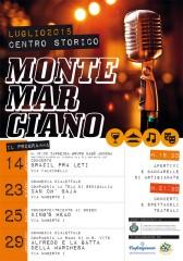 La locandina degli eventi culturali di luglio a Montemarciano