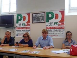 La presentazione della festa dell'Unità del PD Senigallia - luglio 2015