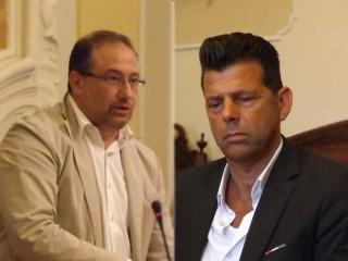 Roberto Paradisi e Maurizio Mangialardi