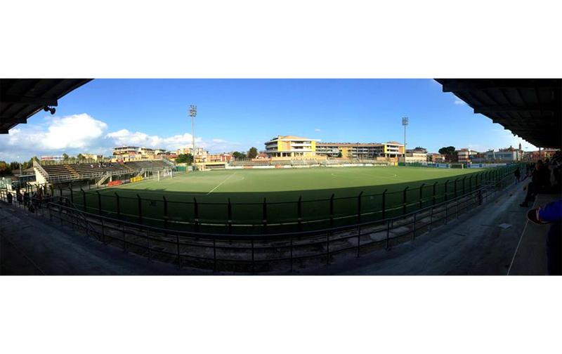 Lo stadio G.Bianchelli di Senigallia
