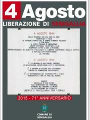 71° anniversario della liberazione di Senigallia