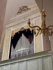 L'Organo Odoardo Cioccolani 1866, restaurato nel 2009 dalla Ditta Fratelli Ruffatti di Padova, nella Chiesa di Santa Maria de Abbatissis