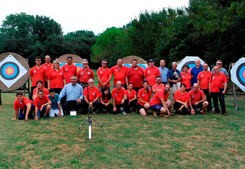 Gli arcieri ASSTA Senigallia festeggiano il ventennale dell'associazione