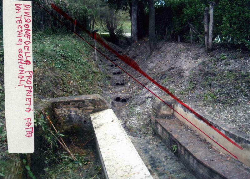 Crocifisso della Valle, sorgente d'acqua