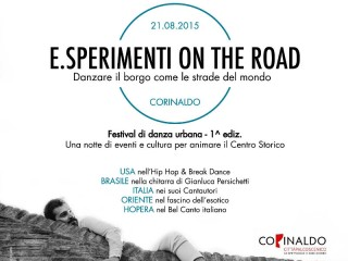 E.Sperimenti on the road a Corinaldo