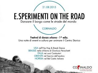 E.Sperimenti on the road a Corinaldo
