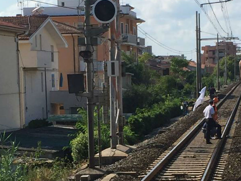 Incidente stazione di Senigallia