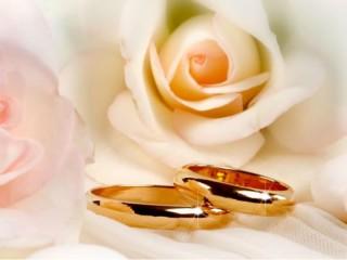 Matrimonio, sposi, anelli