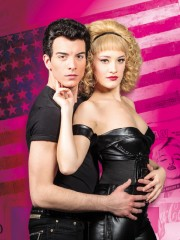 Grease il musical edizione 2015: Danny&Sandy, ph Gaetano Cessati
