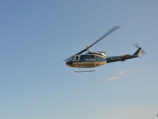 Controlli dall'alto attraverso l'uso dell'elicottero della Polizia