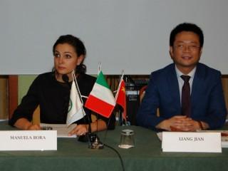 Bora con delegazione cinese