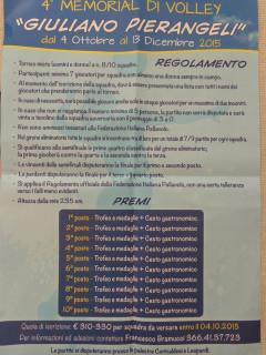 Locadina Memorial Pierangeli 2015