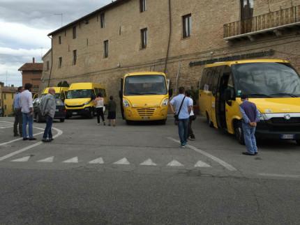 Trasporto scolastico, mezzi Conerobus