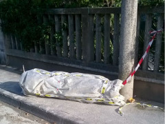 Tubi di cemento-amianto in via Roveero-6