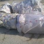 Tubi di cemento-amianto in via Rovereto