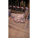 Tubi di cemento amianto in via Rovereto