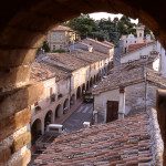 Il centro storico di Castelleone di Suasa