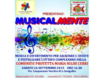 Musicalmente - festa anniversario Comunità Maria Nilde Cerri