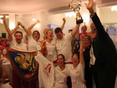 La squadra del Veneto Prima classificata alla Gara Nazionale di Primo Soccorso