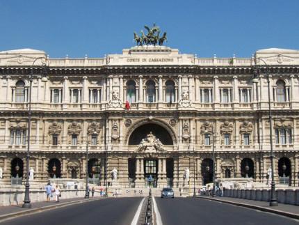 Palazzo di Giustizia a Roma, sede della Corte di Cassazione