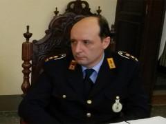 Il comandante della Polizia Municipale Flavio Brunaccioni