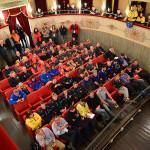 L'esercitazione europea tenutasi al teatro Misa di Arcevia