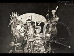 Giovani mascherati a Villa Sorriso - Leopoldi 249